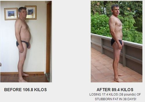 Graeme Jordan loses 17.4 kgs of stubborn fat in 38 days with HCG Natural Weightloss!