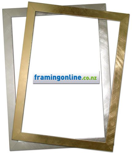 classy gold silver a4 frames