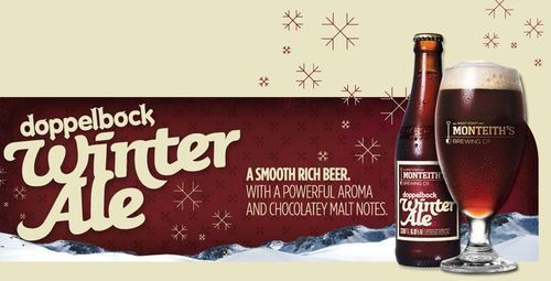 Dopplebock Winter Ale - rich and smooth chocolate malt