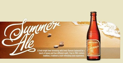 Summer Ale - honey and four different malts