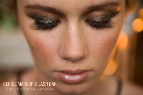 Special occasion makeup and mix customised lashes