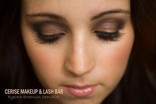 Special occasion makeup and semi-permanent lashes