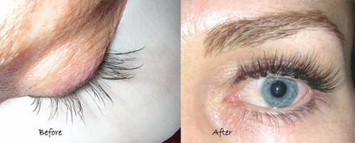 Lash repairs after allergies, bad lash sets, nervous lash pulling and other lash emergencies affect the look of your lashes