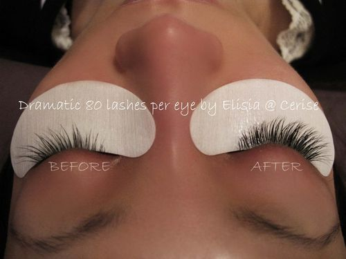 Semi-permanent lash extensions add natural-looking lushness, length and definition to lashes