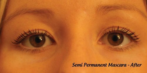 Semi-permanent mascara