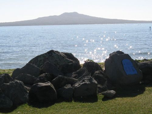 Gorgeous view of Rangitoto Island