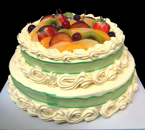 Fresh Cream Gateau(2 layers)