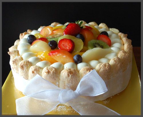 Fruit Supereme Gateau