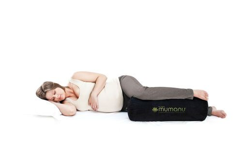 Designed by Joyful Childbirth's Samantha, the Mumanu Pregnancy Pillow gives you the most comfortable night's sleep