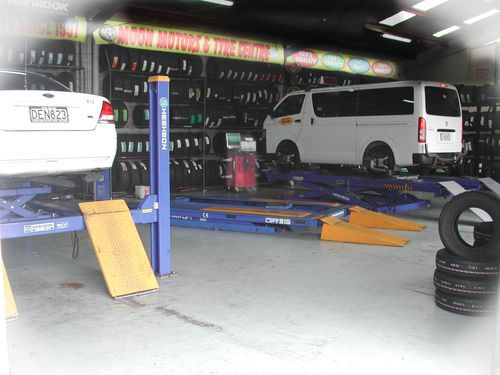 Moon Motors Tyre Centre Mangere East Localist