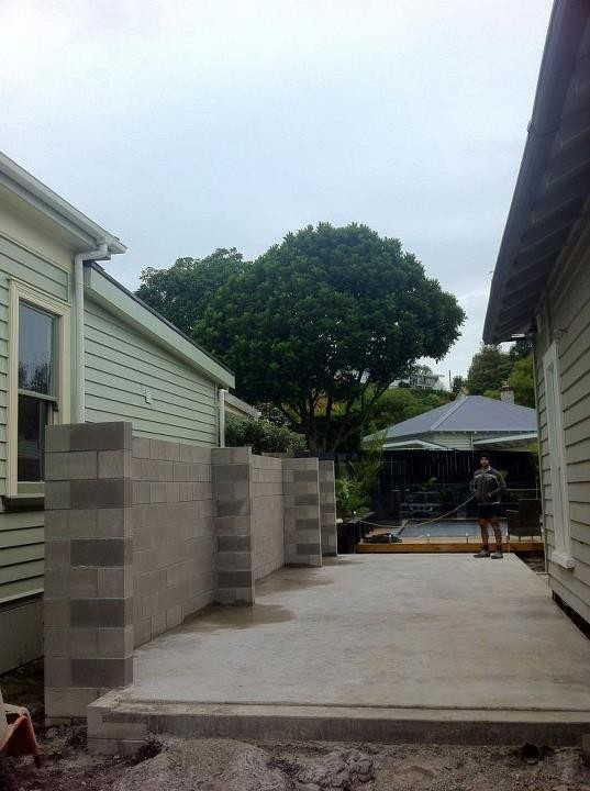 Garage extension- Mt. Eden- July 2012- Before