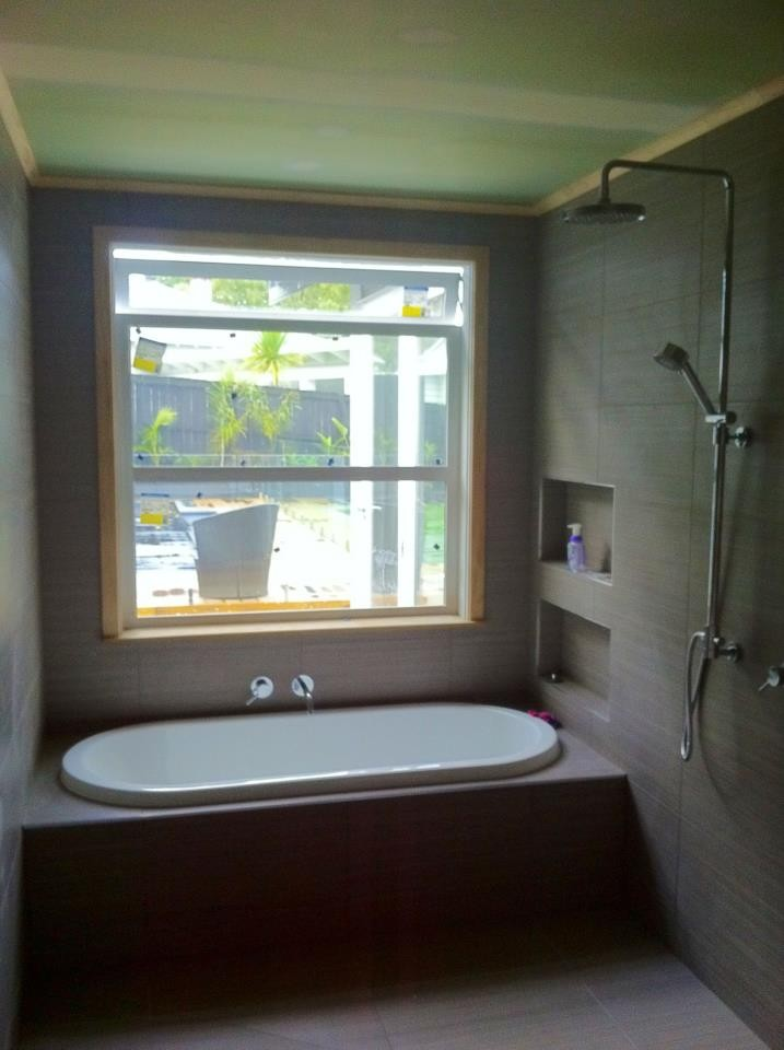 New bathroom extension- Mt. Eden- July 2012- After
