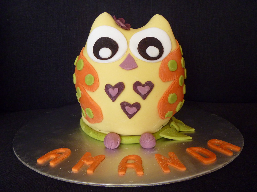 3d Owl Cake!