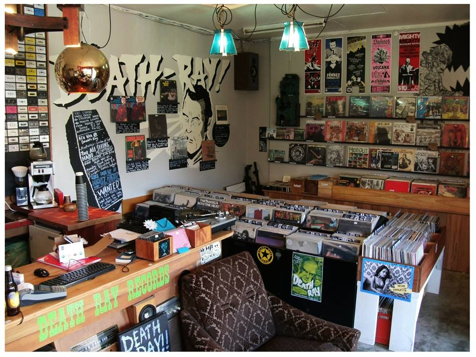 Death Ray Records Newtown Localist