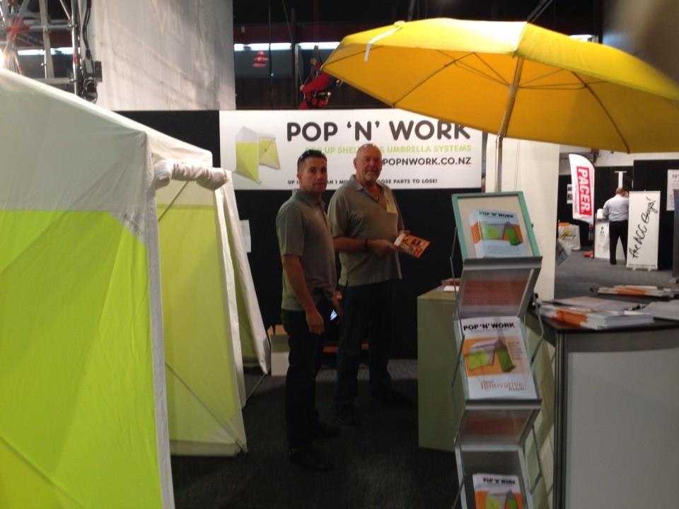 Pop N Work Tent Amp Umbrella Systems Papakura Localist