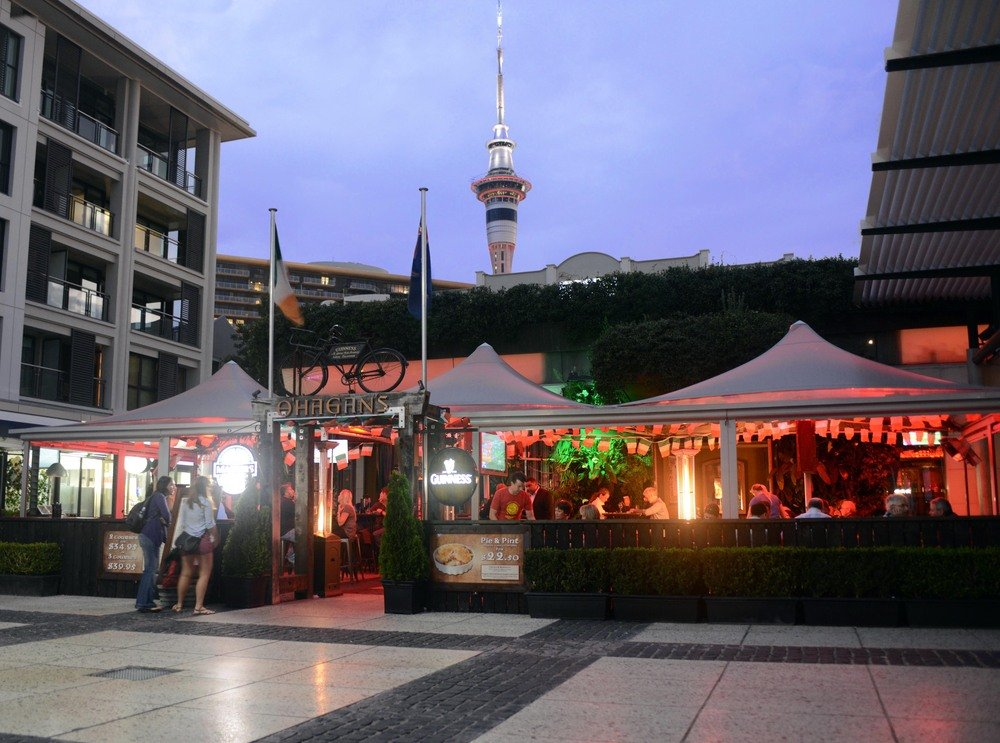 O 39 hagans irish bar waterfront pub food viaduct harbour for Xi an food bar mt albert