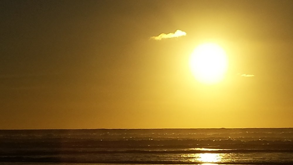Sunset Piha North
