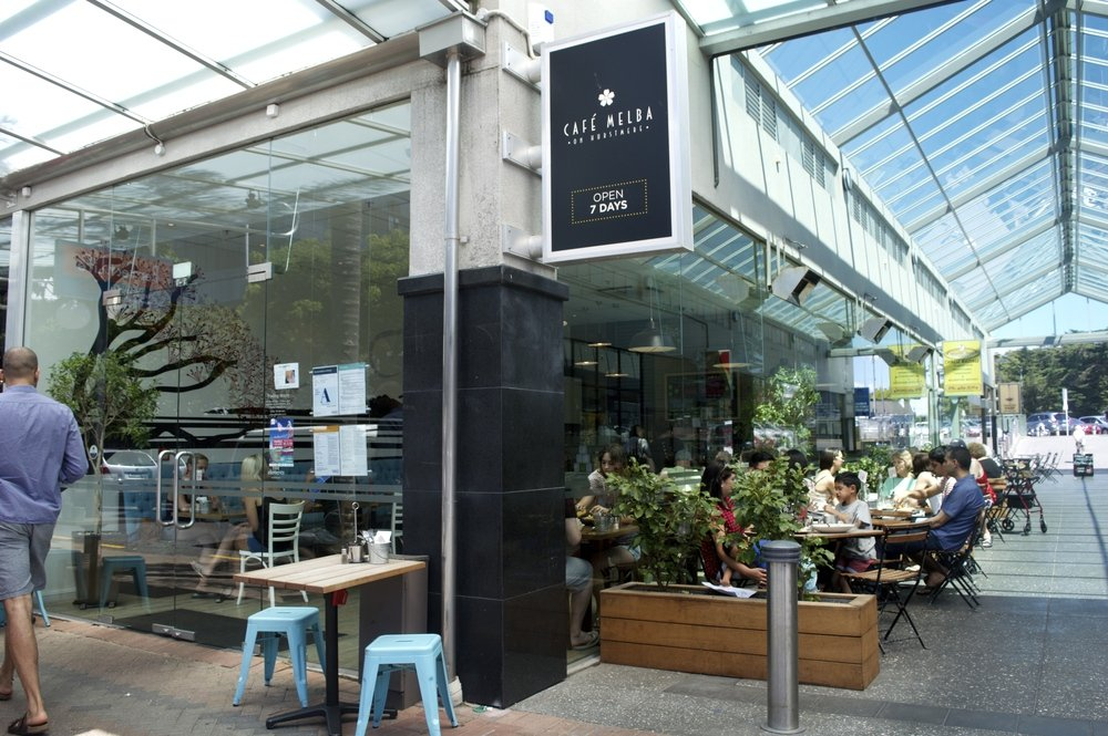 Cafe Melba Takapuna Menu