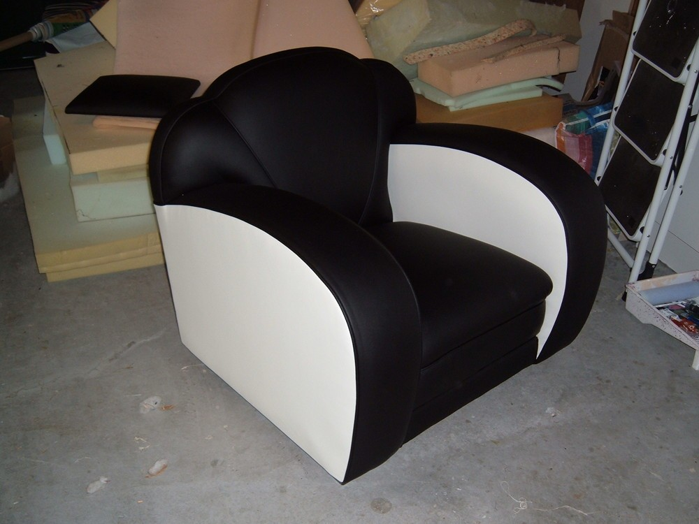 Restored Deco Chair