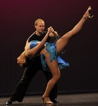 Salsa Performance - Irina and Lee