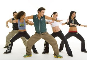 Zumba classes 6 times a week!