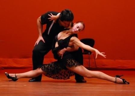 Tango performance- irina