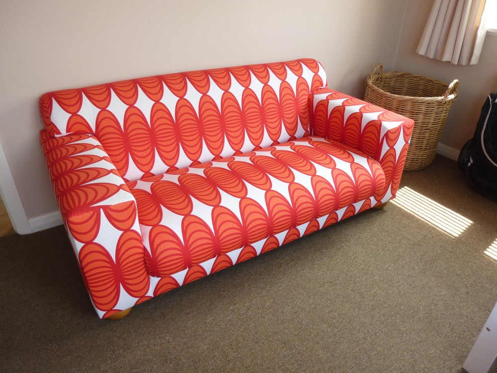 Retro Sofa In Ikea Fabric