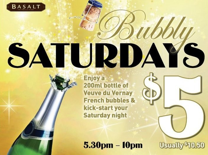 Bubbly Saturday - French champagne for $5