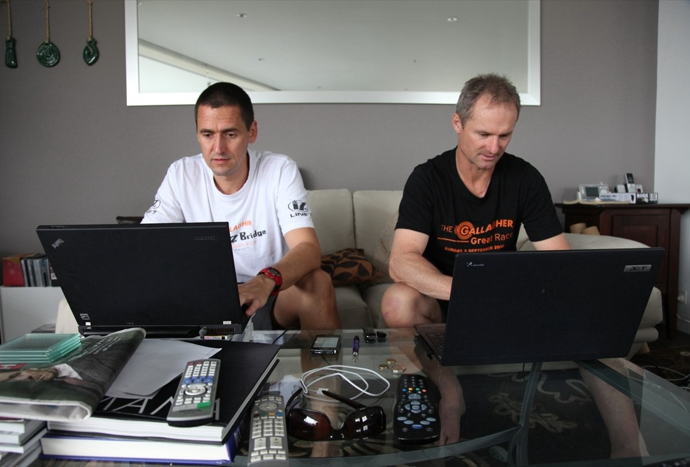 Busy writing blogs for Localist: Martin and Rob Hamill