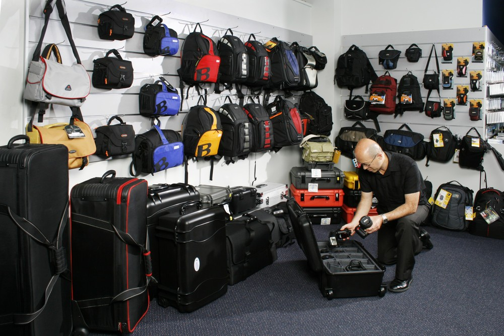 We have a wide range of camera bags, Backpacks and Protective Cases.