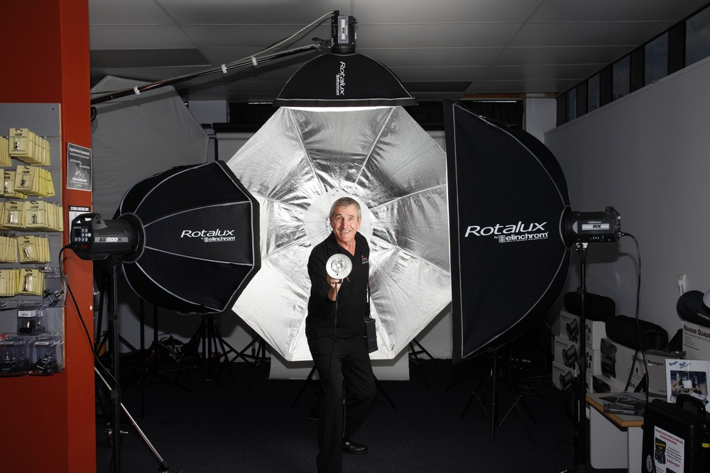 We are Elinchrom stockists for New Zealand and have a wide range of lighting solutions