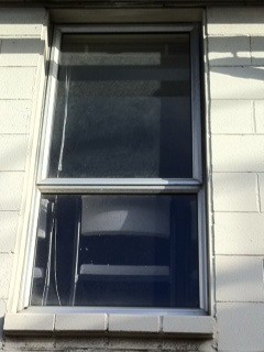 Window replacement for a commercial business