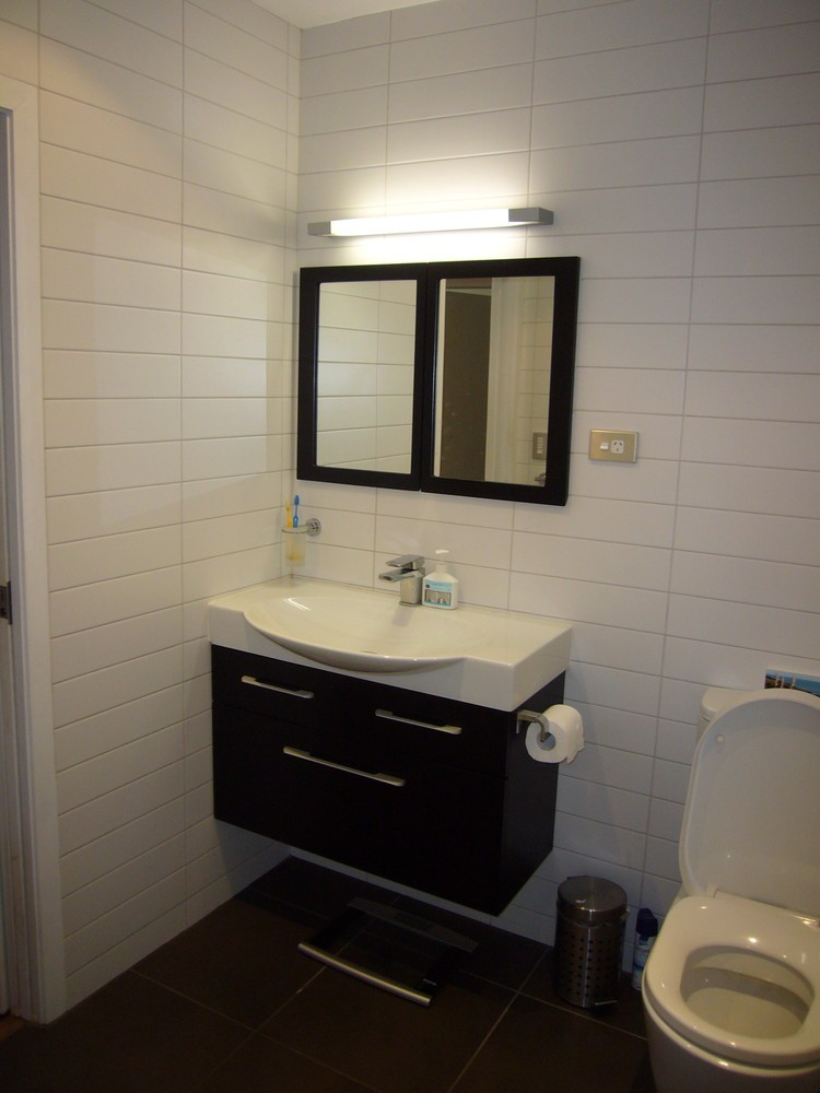 Modern bathroom renovation 1