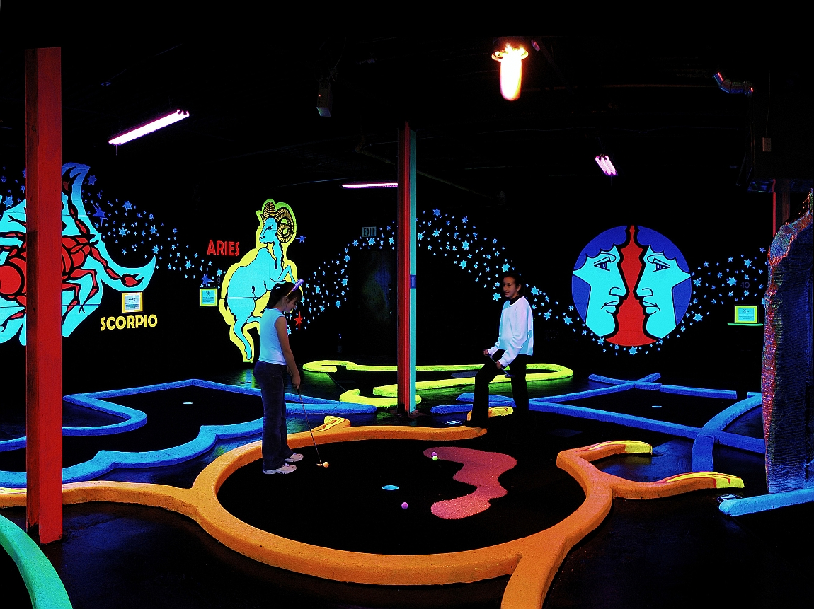 Glow in the dark mini golf coupons